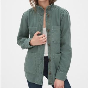 Gap Slub Utility Jacket